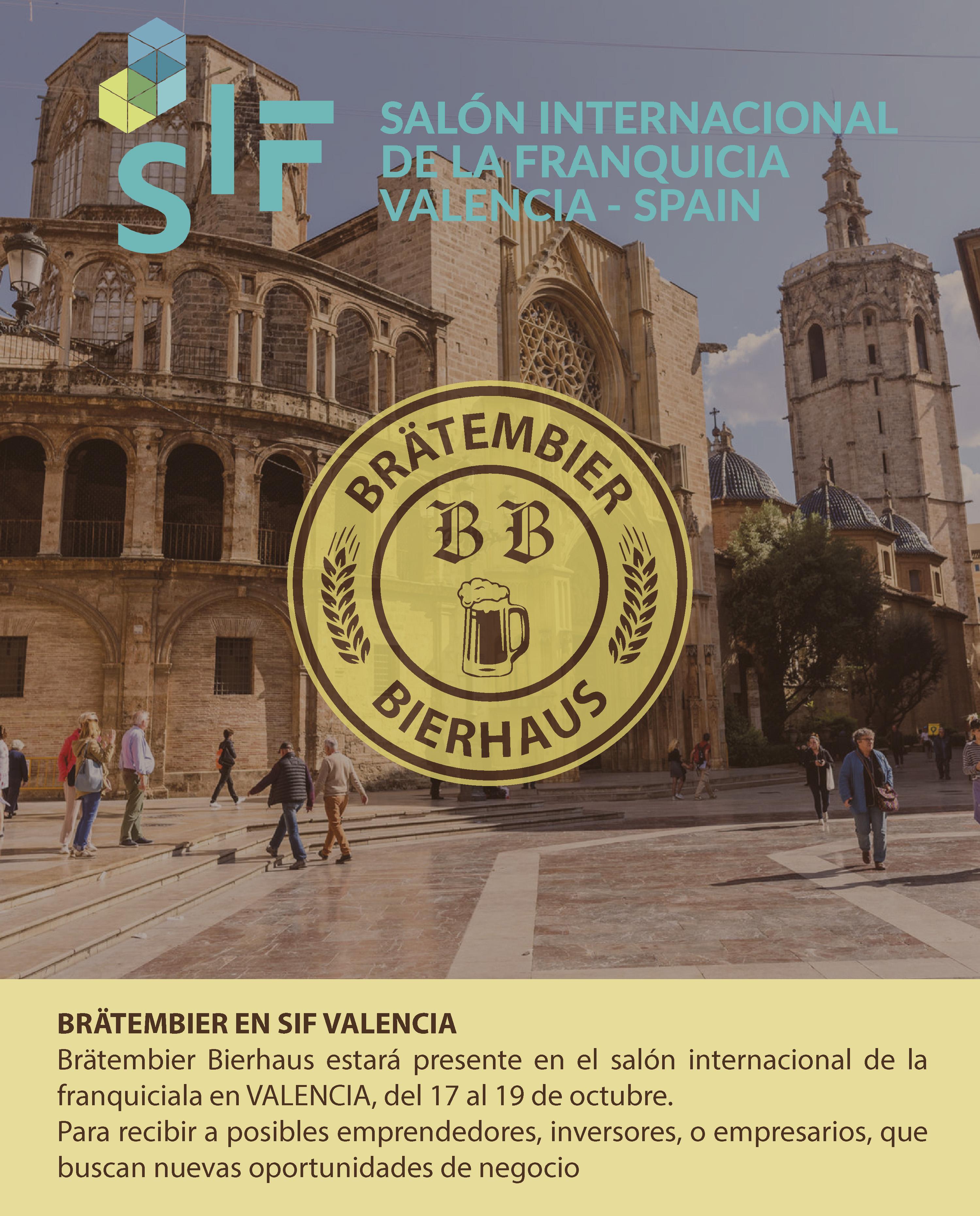 SIF Valencia 2019 Bratembier Bierhaus Feria
